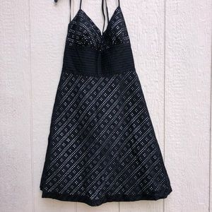 WHBM black dress size 6